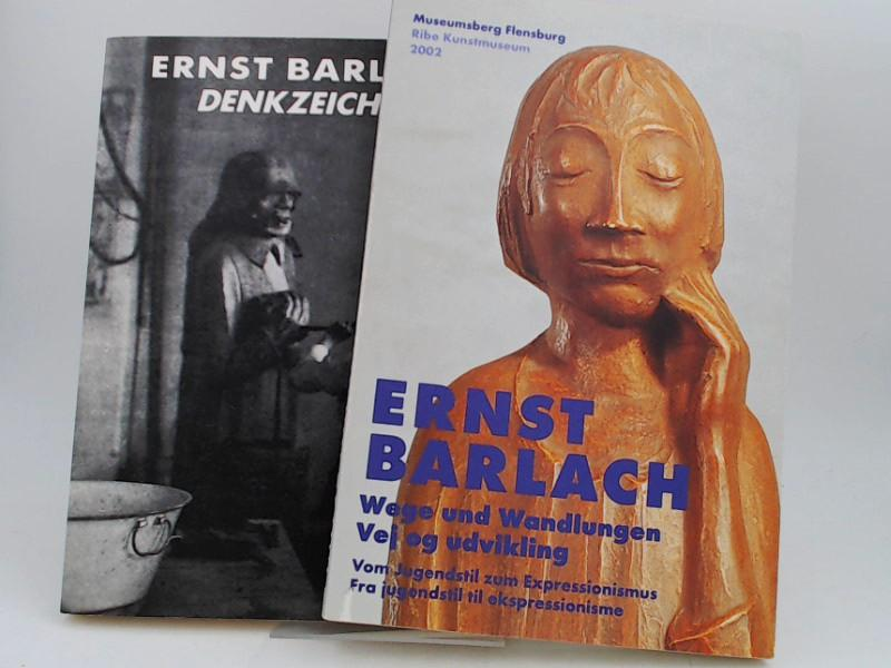 2 Bücher zusammen - 1) Ernst Barlach.: Barlach, Ernst:
