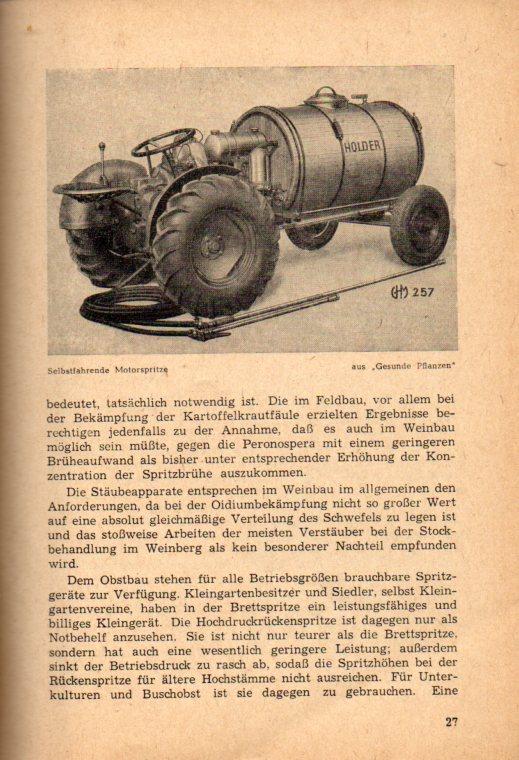 Vom Sinn und Wert des Pflanzenschutzes in: Drees,H.