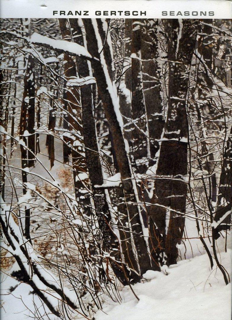 Franz Gertsch: Seasons. Works from 1983-2011: Bezzola, Tobia