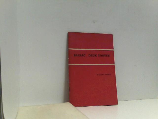 Balzac Deux Contes Neusprachliche Bibliothek: Richard Ritter: