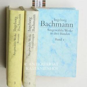 3 Bände Ausgewählte Werke in drei Bänden: Bachmann, Ingeborg