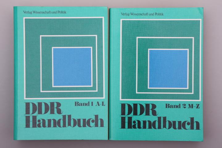DDR-HANDBUCH. A-Z: Hrsg.]: Zimmermann, Hartmut;