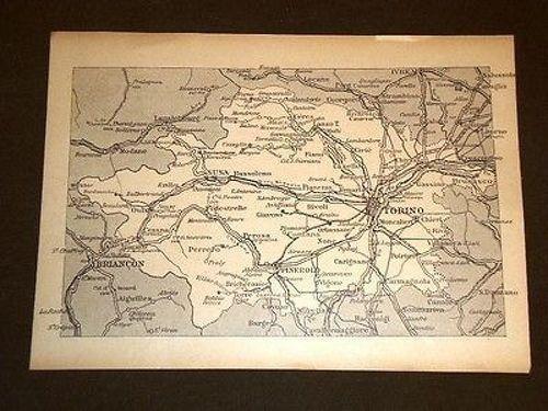 Cartina Piemonte Torino.Carta O Cartina Di Torino Susa Pinerolo Piemonte Magazine Nbsp Nbsp Periodical Libreria Il Tempo Che Fu