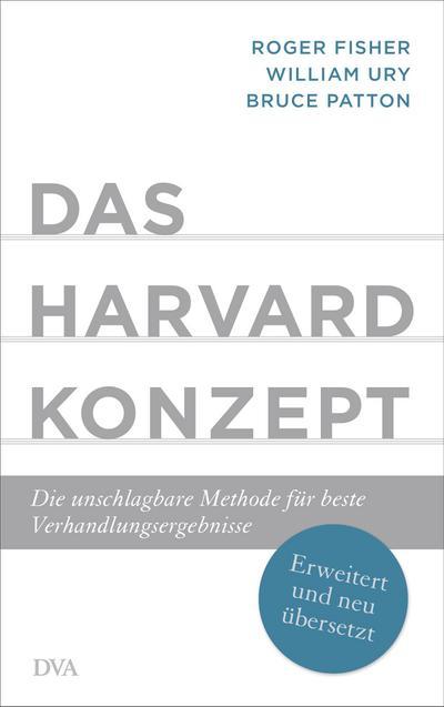 Das Harvard-Konzept : Die unschlagbare Methode für: Roger Fisher
