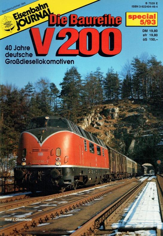 Eisenbahn Journal: Special 5/93. Die Baureihe V: Horst Obermayer: