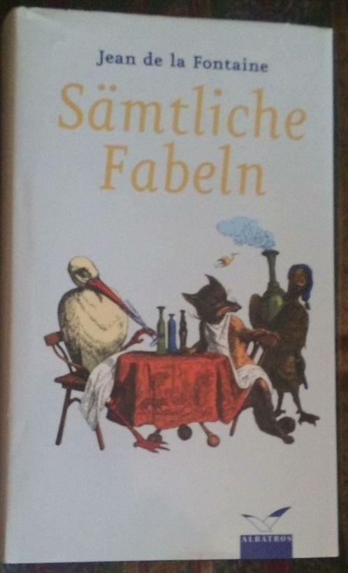 Sämtliche Fabeln. Mit den Illustrationen von Grandville.: Fontaine, Jean de