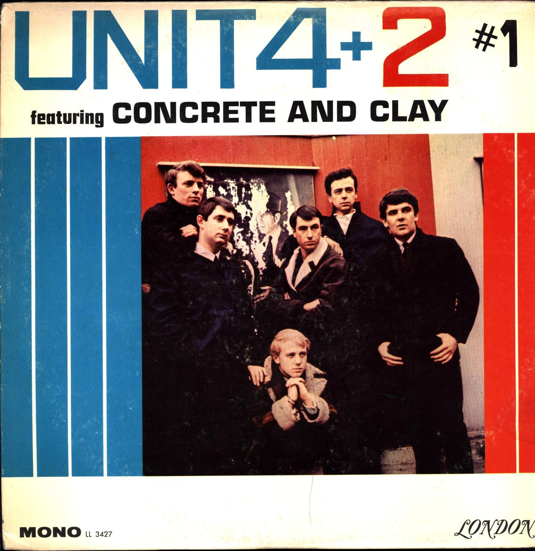 Unit 4 + 2 #1 featuring 'Concrete and Clay' (VINYL FOLK / GOSPEL LP) by Unit 4 + 2: Fine Hardcover (1965) | Cat's Curiosities