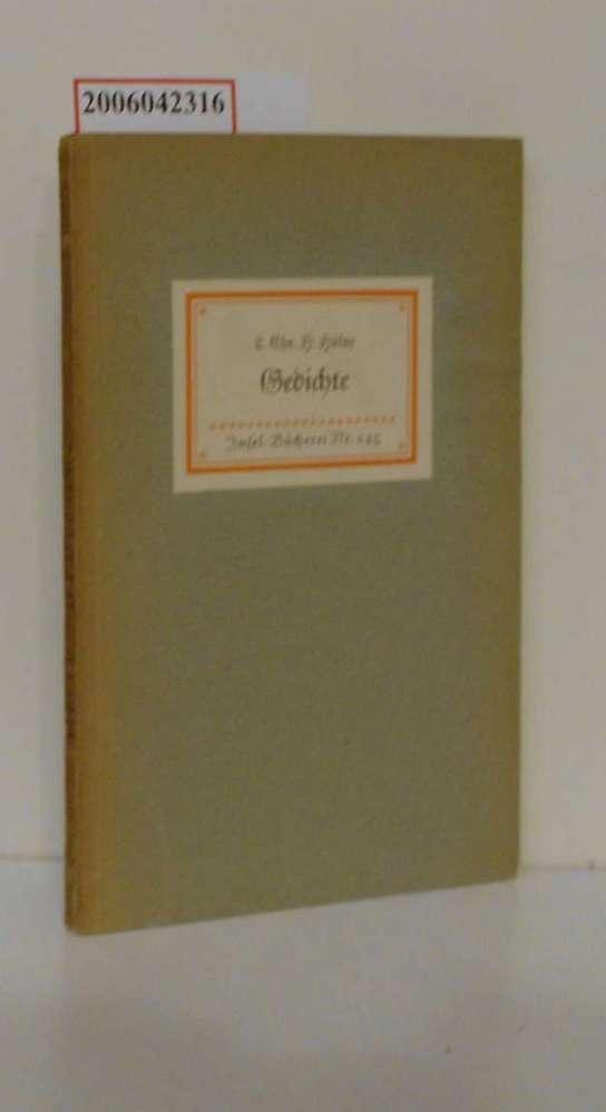 Gedichte / Ludwig Christoph Heinrich Hölty /: Hölty, Ludwig Christoph