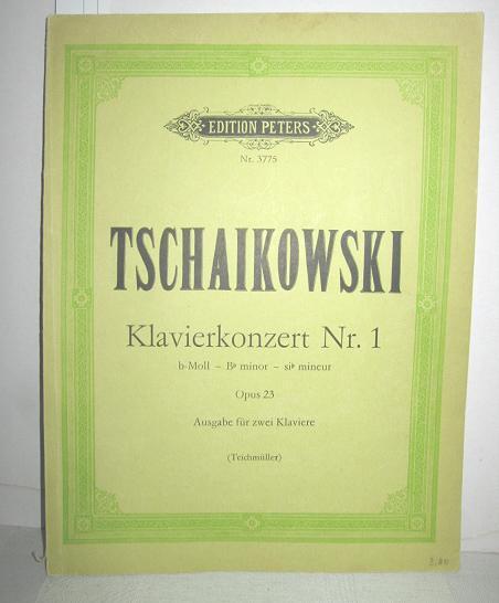 Klavierkonzert Nr. 1 Op. 23 (Ausgabe für: TSCHAIKOWSKI, PETER: