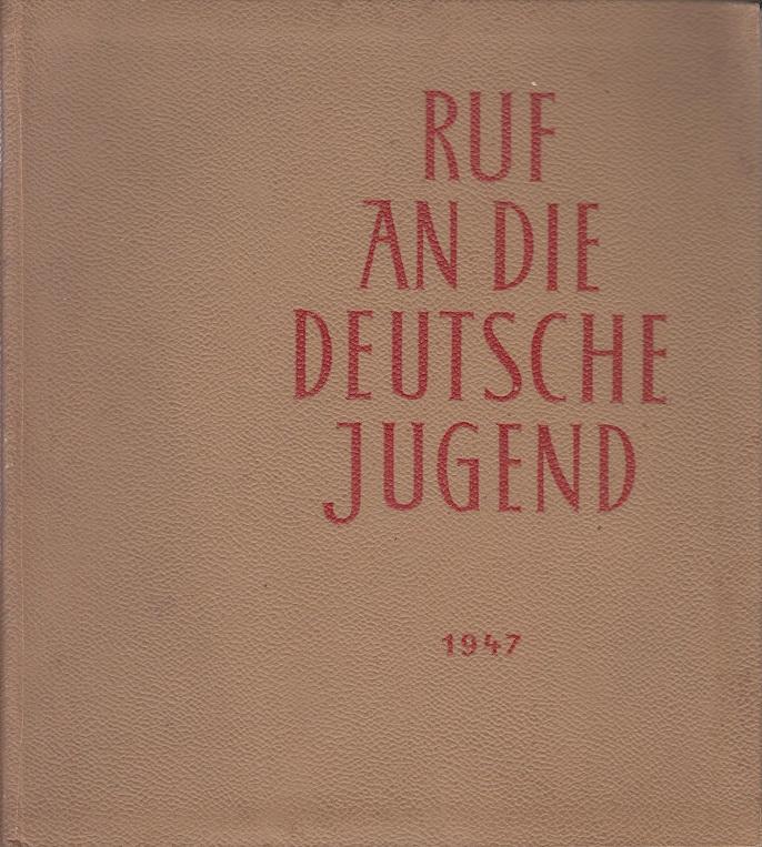 Ruf an die deutsche Jugend. Erste Internationale: Fauth, Gerhard (Hg.)