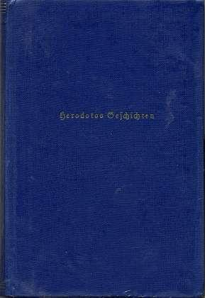 Die Geschichten des Herodotos , zweiter Band,: Güthling, Otto: