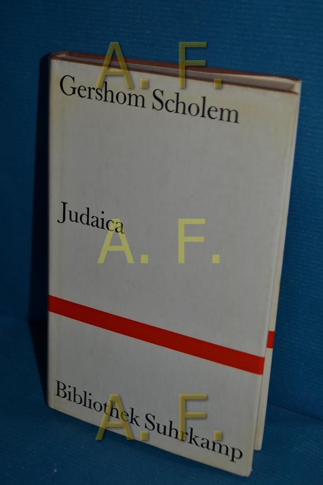 Judaica: Scholem, Gershom: