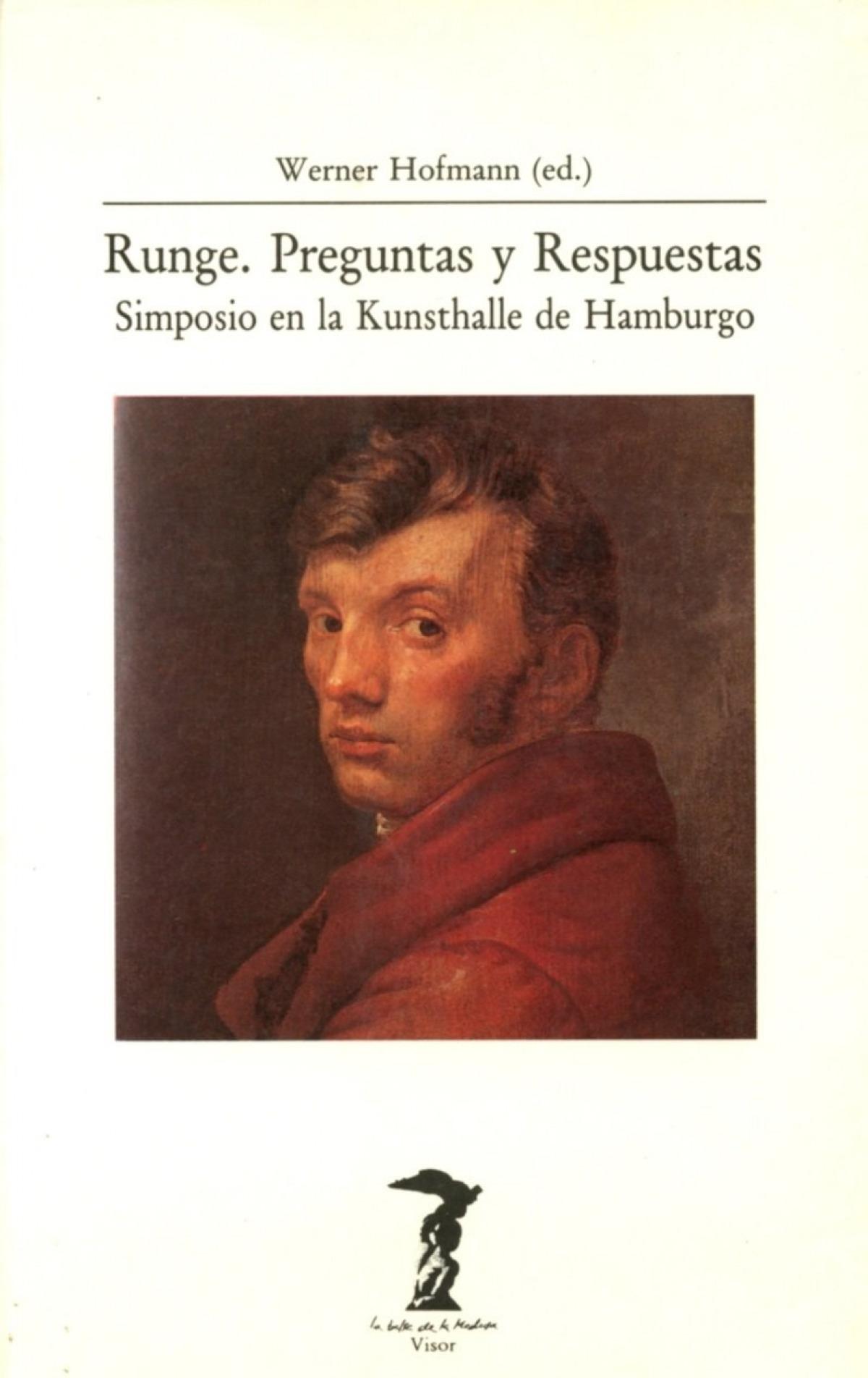 Runge. preguntas y respuestas simposio en la kunsthalle de hamburgo - Hofmann