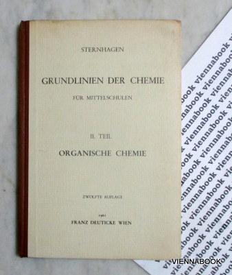 Grundlinien der Chemie für Gymnasien Realgymnasien und: Sternhagen, Prof. Dr.