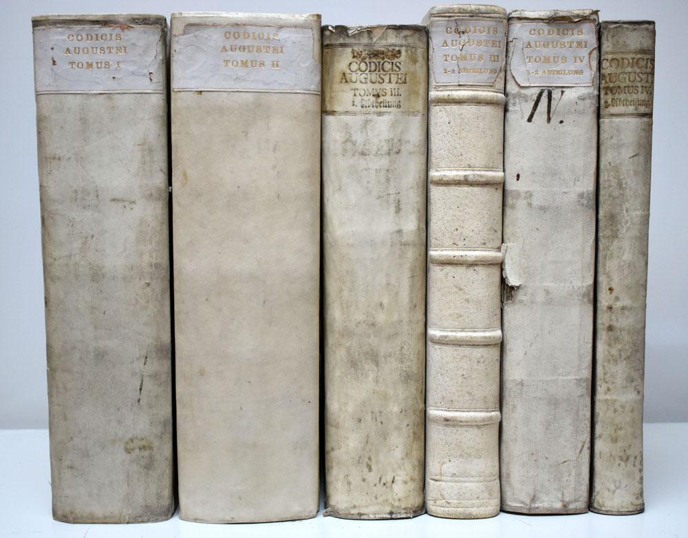 Codex Augusteus, Oder Neuvermehrtes Corpus Juris Saxonici.: Lünig, Johann Christian: