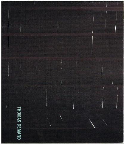 Katalog Kunsthalle Zürich.: Thomas Demand.