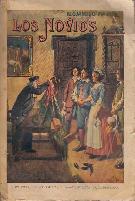 LOS NOVIOS (I PROMESSI SPOSI) de MANZONI, ALEJANDRO: Aceptable (1937)    Librería Vobiscum