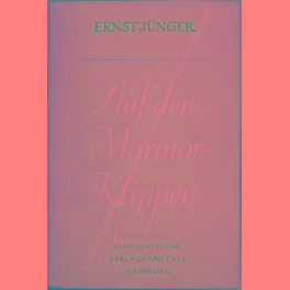 Auf den Marmor Klippen: Junger Ernst (1895-1998)