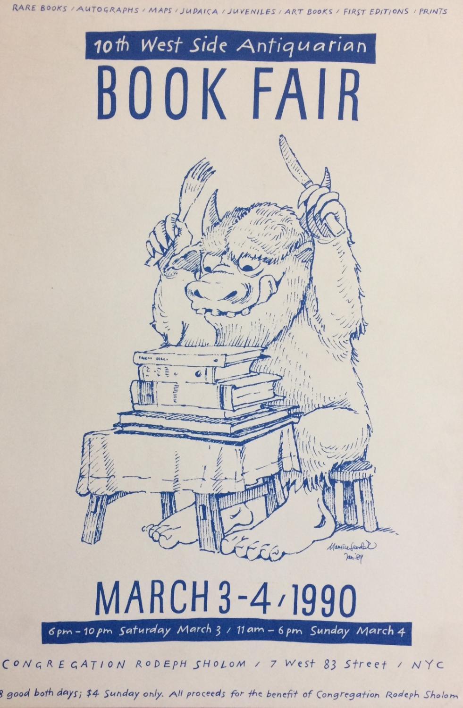 10th West Side Antiquarian Book Fair; March: SENDAK, Maurice