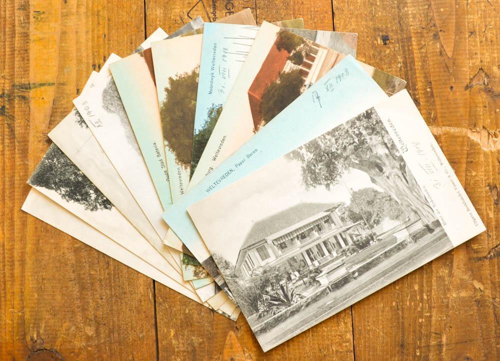 10 Postkarten mit Motiven aus Indonesien, hier: Indonesien, Indonesia, Jakarta,