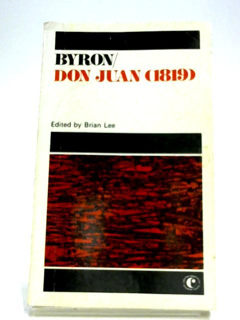 Don Juan (1819): Lord Byron