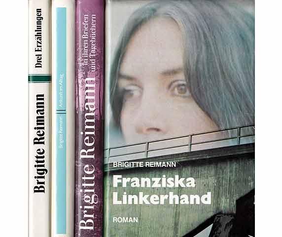 """Konvolut  Brigitte Reimann"""". 7 Titel. 1.) Die: Reimann, Brigitte"""
