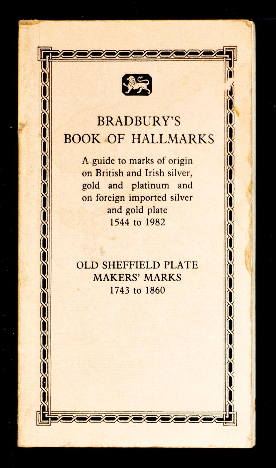 Silver hallmarks sheffield IDENTIFICATION GUIDES