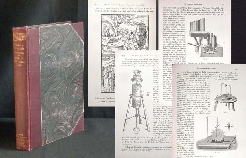 Geschichte der physikalischen Experimentierkunst.: GERLAND, Dr. E./