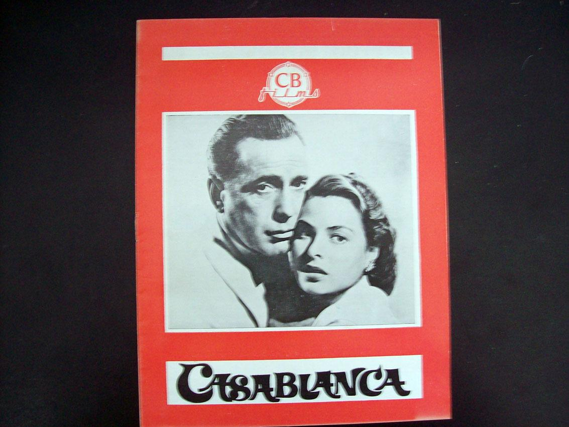 CASABLANCA   21Dir MICHAEL CURTIZCast HUMPHREY BOGARTINGRID ...
