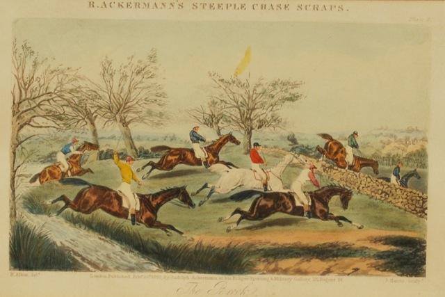 The Brook R. Ackermann`s Steeple Chase scraps.: Alken