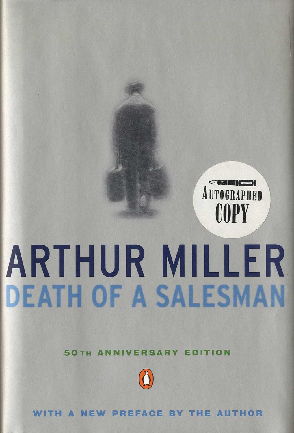 Arthur Miller Death Of A Salesman Signed Abebooks