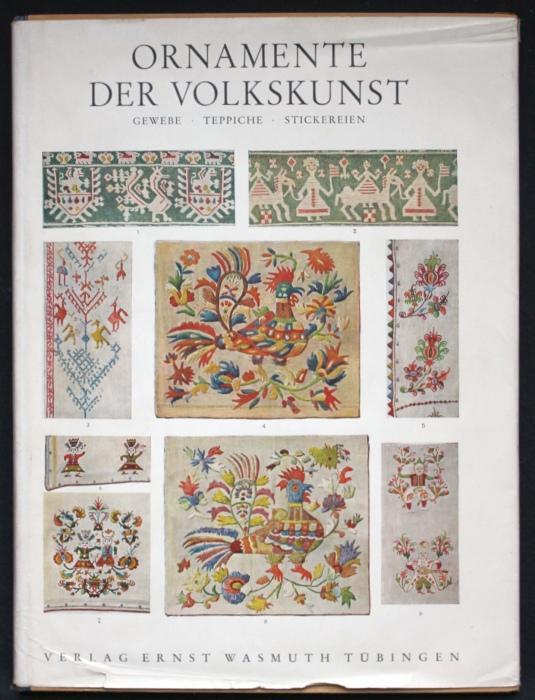 Ornamente der Volkskunst. Gewebe - Teppiche -: Bossert, H. Th.