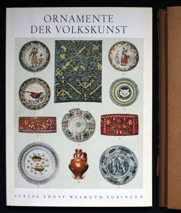 Ornamente der Volkskunst. Neue Folge: Keramik, Holz,: Bossert, H. Th.