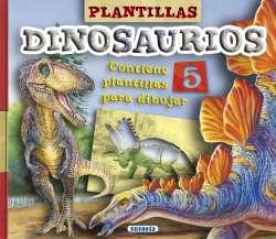 Plantillas dinosaurios. Edad: 6+. Contiene 5 plantillas para dibujar. - Susaeta, Equipo