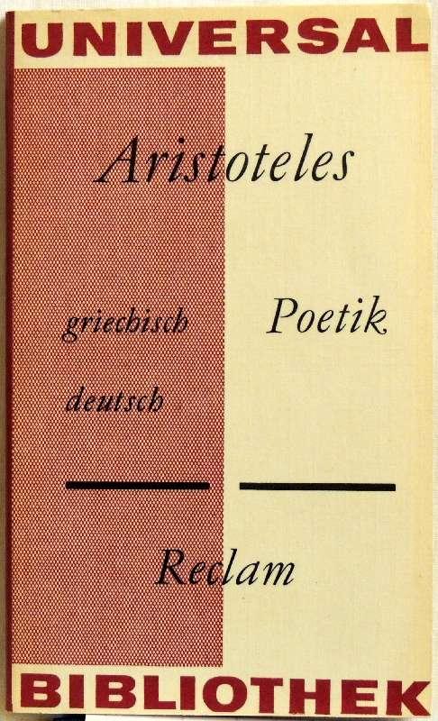 Poetik; griechisch und deutsch: Aristoteles