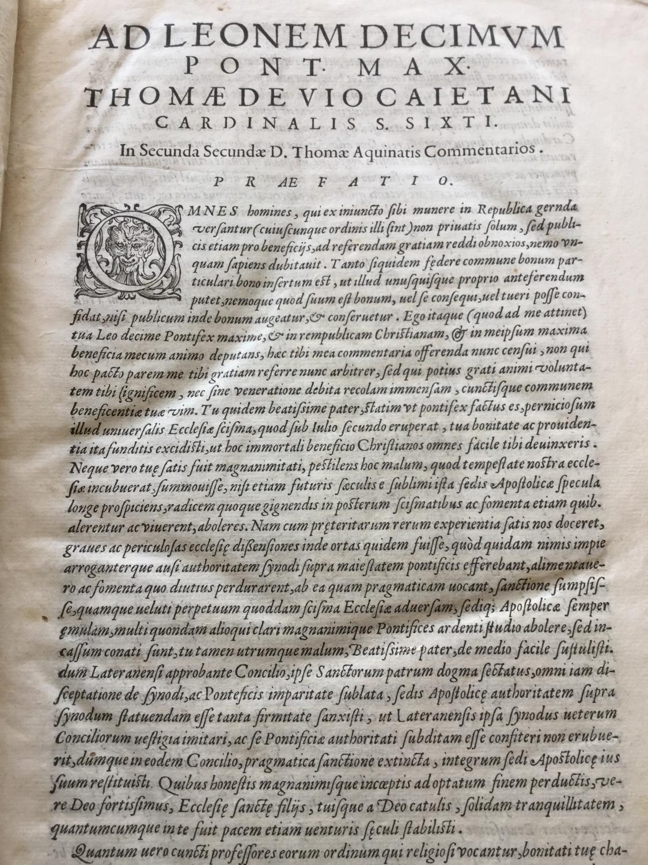 D. Thomae de Aquino Secunda secundae (2.: Thomas von Aquin