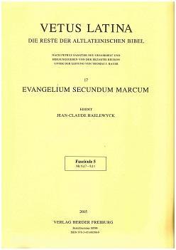 Vetus Latina 17. Die Reste der altlateinischen: Erzabtei Beuron unter