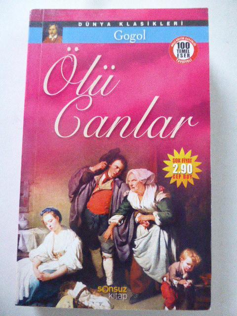 Ölü Canlar. Dünya Klasikleri 7. Paperback: Gogol