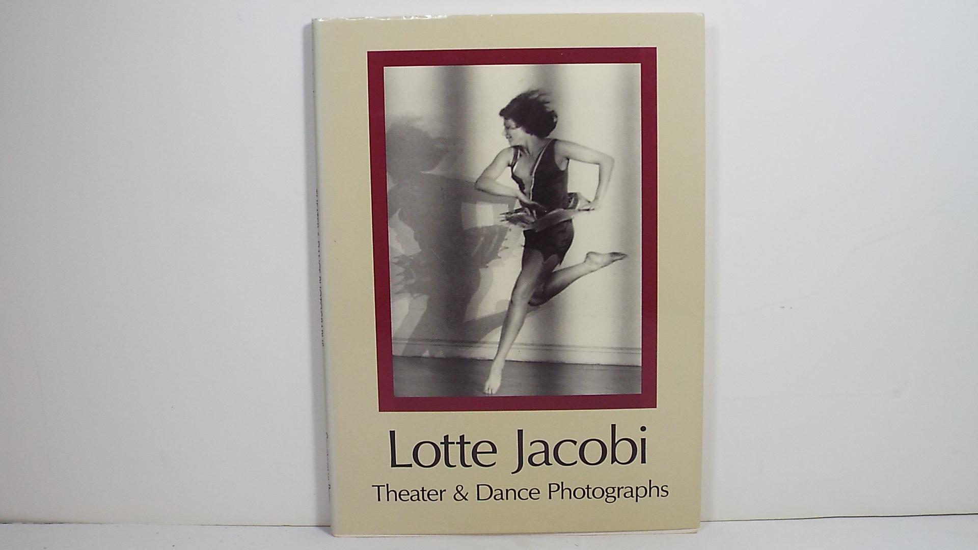 Lotte Jacobi: Theater & Dance Photographs - Lotte Jacobi