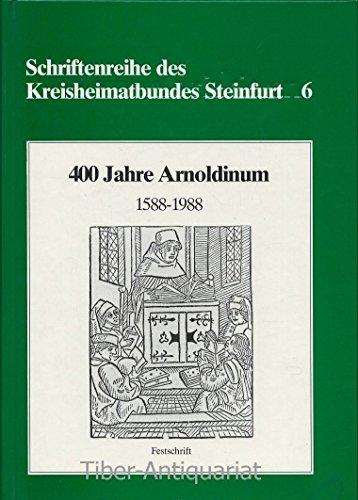 Schriftreihe des Kreisheimatbundes Steinfurt Band 6. 400: Kreisheimatbund Steinfurt: