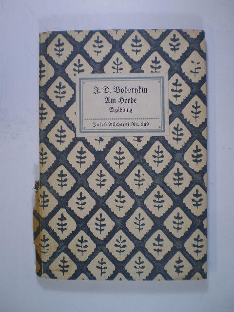 Am Herde. Erzählung: Boborykin, J. D.