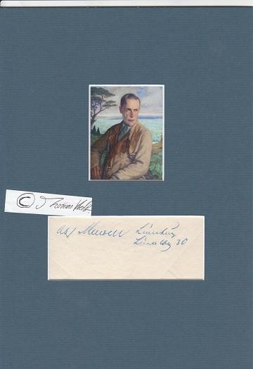 WALTER VON KEUDELL (1884-1973) deutscher Forstmann, Jurist: WALTER VON KEUDELL