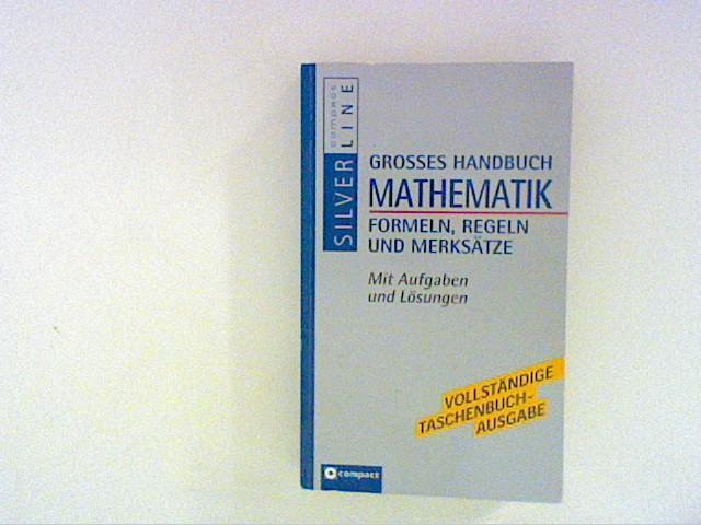 Grosses Handbuch Mathematik: Hoffmann, Manfred: