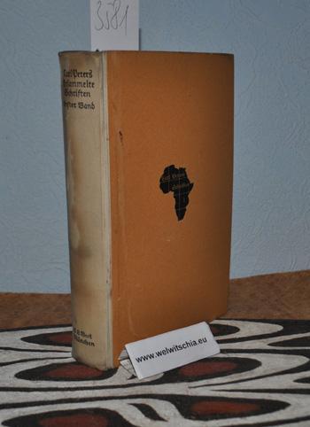 Gesammelte Schriften. Erster Band.: Peters, Carl.