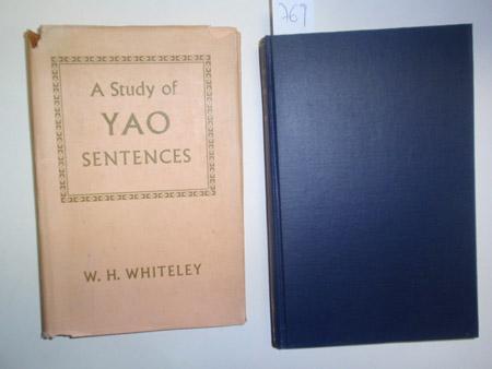 A Study of Yao Sentences.: Whiteley, W. H.