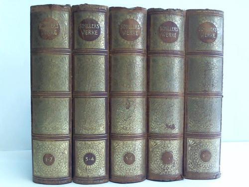 Schillers Werke. 10 Bände in 5 Bänden: Kutscher, Arthur (Hrsg.)