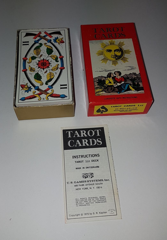 AGM AGMÜLLER Tarot Karten 1996 USGAMES NEU