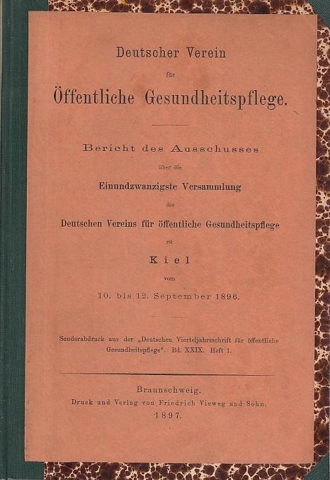Bericht des Ausschusses über die einundzwanzigste Versammlung: Deutscher Verein für