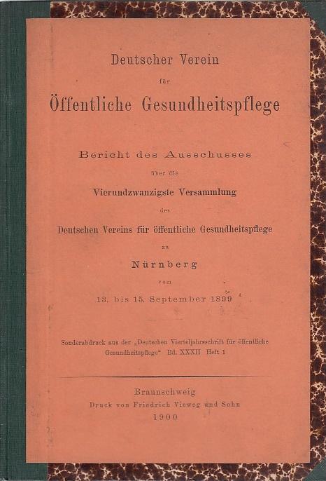 Bericht des Ausschusses über die vierundzwanzigste Versammlung: Deutscher Verein für