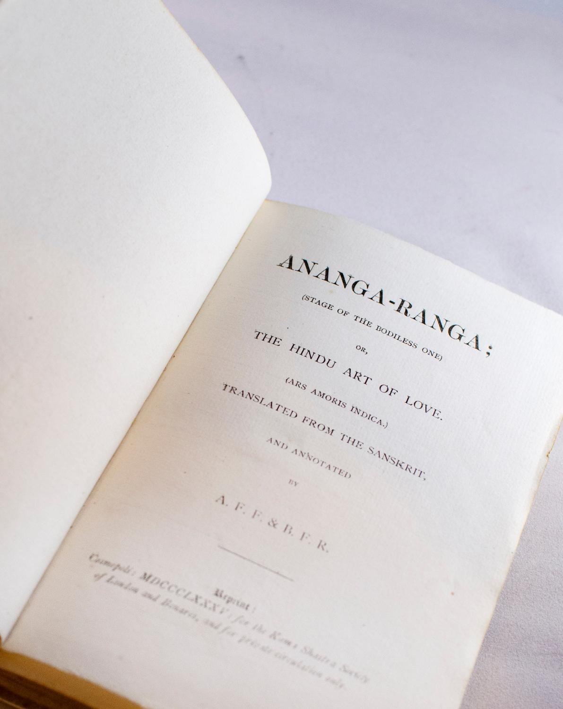 Ananga-Ranga. (Stage of the Bodiless One) or,: BURTON, Sir Richard